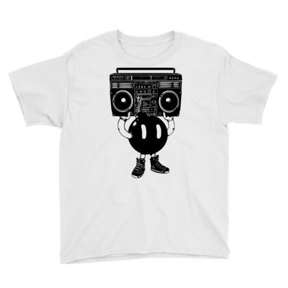 Boom Box Youth Tee Designed By Sbm052017