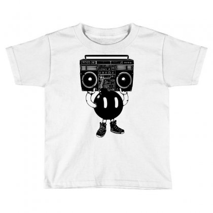 Boom Box Toddler T-shirt Designed By Sbm052017