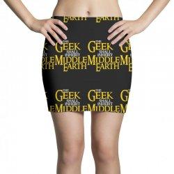 geek shall inherit middle earth Mini Skirts   Artistshot