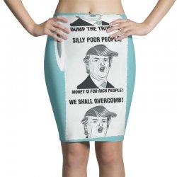 funny donald trump toilet paper Pencil Skirts   Artistshot