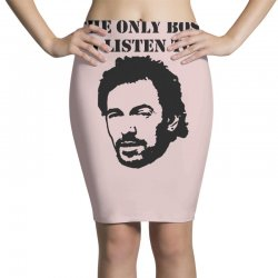 only boss i listen to Pencil Skirts | Artistshot