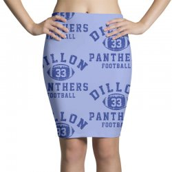 DILLON PANTHERS FOOTBALL Pencil Skirts | Artistshot