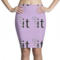 funny sweat Pencil Skirts | Artistshot