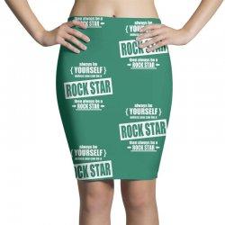 funny rock star Pencil Skirts | Artistshot