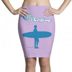 the surfing Pencil Skirts | Artistshot