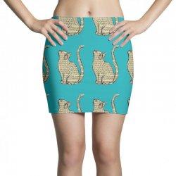cats text Mini Skirts | Artistshot