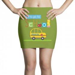 Let's go to school Mini Skirts | Artistshot