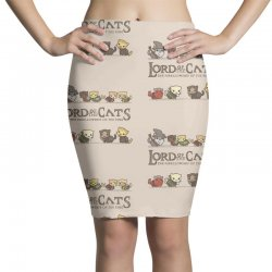 Lord Of The Cats Pencil Skirts | Artistshot
