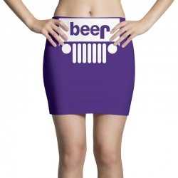 funny jeeps customs logo on men black Mini Skirts | Artistshot
