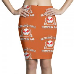 Skellington'spumpkin ale Pencil Skirts | Artistshot