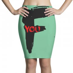 funny mens t shir 'f'yout Pencil Skirts | Artistshot