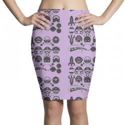 Out Space Pencil Skirts | Artistshot