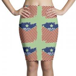 USA Flag Vector Pencil Skirts | Artistshot