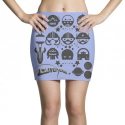 Out Space Mini Skirts | Artistshot