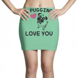 love you  pug Mini Skirts | Artistshot