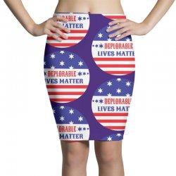 Deplorable Lives Matter Pencil Skirts | Artistshot