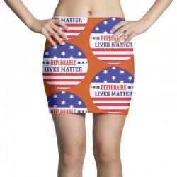Deplorable Lives Matter Mini Skirts | Artistshot