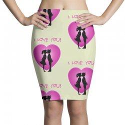 I love you Pencil Skirts | Artistshot