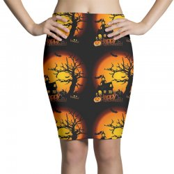 Happy Halloween Pencil Skirts | Artistshot