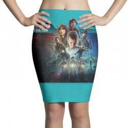stranger things 01 Pencil Skirts | Artistshot