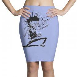 Zombie Music Pencil Skirts   Artistshot