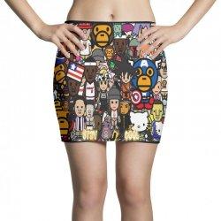 Monkey Mini Skirts | Artistshot