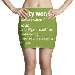 Nasty Woman Noun Mini Skirts | Artistshot