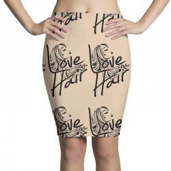 love is in the hair Pencil Skirts   Artistshot