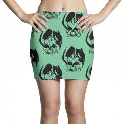 music skull Mini Skirts | Artistshot