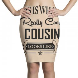 This Is What A Really Cool Cousin Looks Like Pencil Skirts | Artistshot