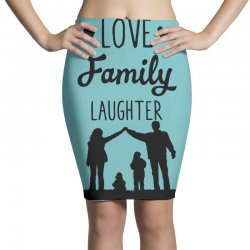 love family laughter Pencil Skirts | Artistshot