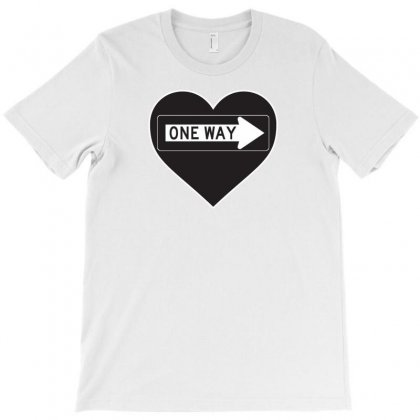 One Way Love T-shirt Designed By Oz