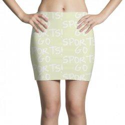 go sports! Mini Skirts   Artistshot