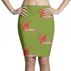 disobey joke politics Pencil Skirts | Artistshot