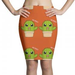 funny cactus hug Pencil Skirts | Artistshot