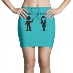 love at first high Mini Skirts   Artistshot