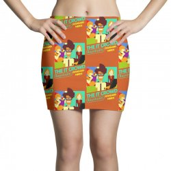 Custom The It Crowd Nes Game Pencil Skirts By Printshirts