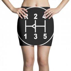 sports car gear knob, transmission shift pattern Mini Skirts | Artistshot