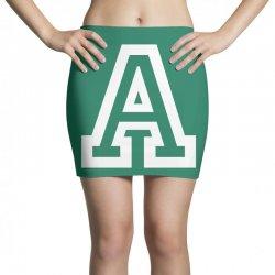 A Initial Name Mini Skirts   Artistshot