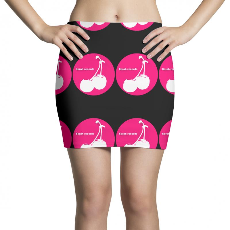 f4a85842bf11a7 Custom Sarah Records Cherry Mini Skirts By Printshirts - Artistshot