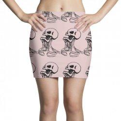 screaming skull Mini Skirts | Artistshot