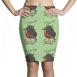 eat fruits Pencil Skirts | Artistshot