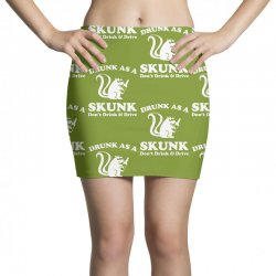 drunk as a skunk Mini Skirts | Artistshot