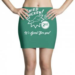 fried chicken it's good for you! Mini Skirts | Artistshot