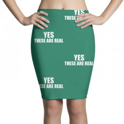 yes these are real funny Pencil Skirts | Artistshot