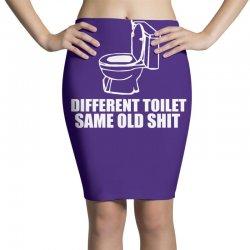 different toilet, same old shit Pencil Skirts | Artistshot