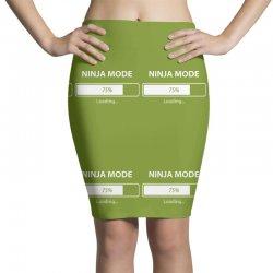 ninja mode loading Pencil Skirts   Artistshot