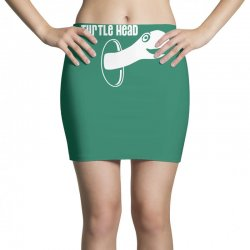 turtle head Mini Skirts | Artistshot