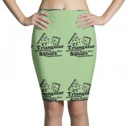 triangular sandwiches Pencil Skirts   Artistshot