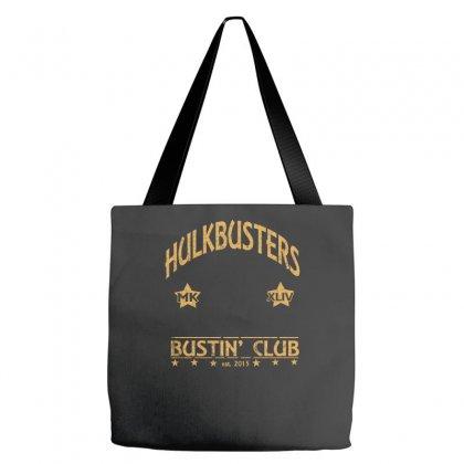 Hulkbuster's Bustin Club Tote Bags Designed By Wisnuta1979